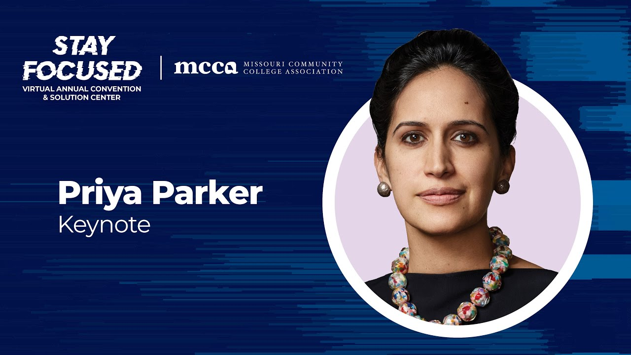 MCCA2020 | Keynote | Priya Parker