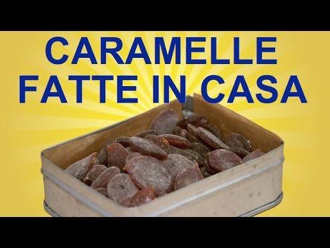 caramelle per il mal di gola fatte in casa - ricetta