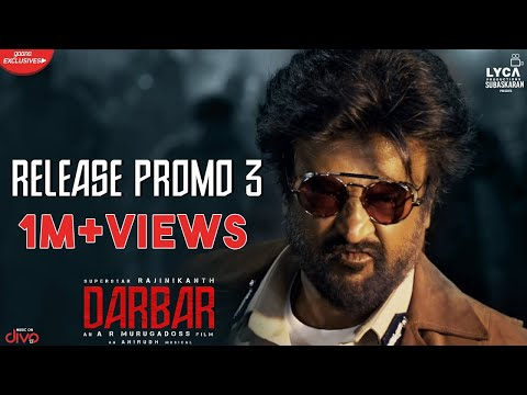 Darbar - Promo Official Video in Tamil