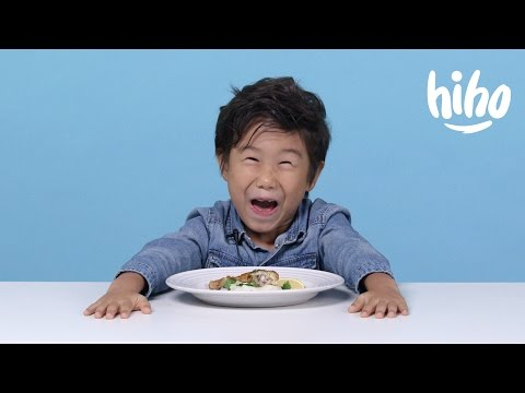 American Kids Try Popular French Food