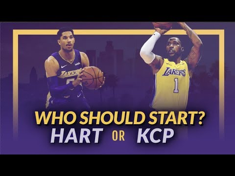 Video: Lakers Nation Debate: Who Should Start? Josh Hart or Kentavious Caldwell-Pope