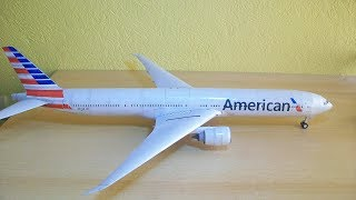 Video American Airlines B777-300ER Papercraft MP3, 3GP, MP4, WEBM, AVI, FLV Juni 2018