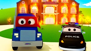 Video The Car Patrol: fire truck and police car Supertruck needs help! in Car City 🔥🔥 Cars cartoons MP3, 3GP, MP4, WEBM, AVI, FLV Desember 2017