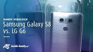"""Das Samsung Galaxy S8 ist der neue Star am Smartphone-Himmel. Dabei ist das Handy keinesfalls das einzige neue High-End-Gerät. LG hat mit dem G6 einen echten """"Smartphone-Brocken"""" mit viel Leistung und unschlagbarer Kamera präsentiert. Wie sich die beiden Handy-Testsieger im Vergleich schlagen, verrät euch unsere Expertin Julia im Video. Hier gibt's noch mehr Infos: Zum Testbericht des Samsung Galaxy S8: https://www.inside-handy.de/handys/samsung-galaxy-s8/testZum Testbericht des LG G6: https://www.inside-handy.de/handys/lg-g6/testDer große Vergleich - Galaxy S8 vs. LG G6: https://www.inside-handy.de/news/44713-handy-vergleich-samsung-galaxy-s8-lg-g6Frühjahr 2017 - Das sind die inside-handy.de-Testsieger: https://www.inside-handy.de/news/44776-testsieger-flaggschiff-fruehjahr-2017Hier findet ihr uns:→  Jetzt Abonnieren: http://l.hh.de/R5mdMu→  Finde uns auf Facebook: https://www.facebook.com/insidehandy→  Folge uns auf Twitter: http://twitter.com/inside_handy→  Website: http://www.inside-handy.de/→  Google+: https://plus.google.com/+insidehandyUnser kostenloser Newsletter: http://bit.ly/MwXP0c"""