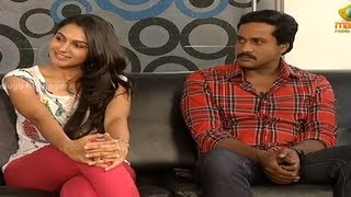 P1 - Chit Chat With Tadakha Movie Team - Naga Chaitanya, Tamanna, Sunil, Andrea Jeremiah