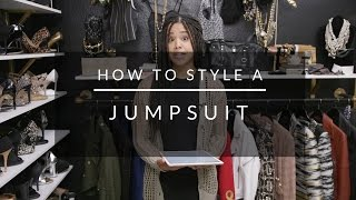 How To Style A Jumpsuit