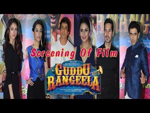 Sonu Sood, Huma Qureshi & Other Celebs At Guddu Rangeela Film Screening