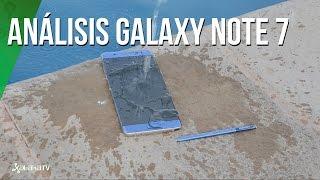 Análisis Galaxy Note 7