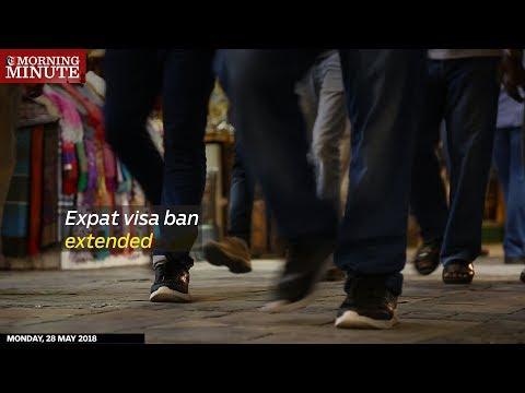 Expat visa ban extended