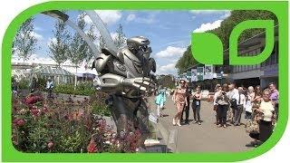 Der Garten von Stoke-On-Trent inklusive Roboter (Chelsea 2014)