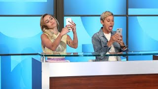 Video Miley Cyrus Schools Ellen on Millennials MP3, 3GP, MP4, WEBM, AVI, FLV Februari 2018