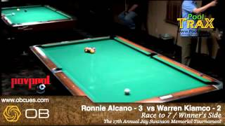 9-Ball - 'Swanee 17' - Ronnie Alcano Vs Warren Kiamco / Feb 2013