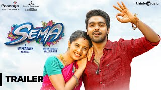 Video Sema Official Trailer | G.V. Prakash Kumar, Arthana Binu | Valliganth | Pandiraj MP3, 3GP, MP4, WEBM, AVI, FLV April 2018