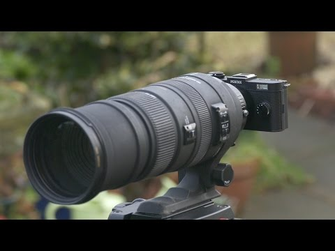 Pentax Q-S1 with Fotodiox Adapter and 150 to 500mm zoom lens test
