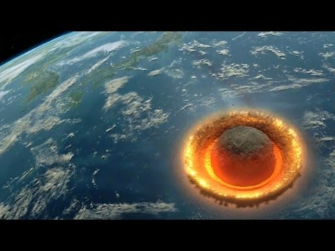 Devastating Computer Simulation of Asteroid Hitting Earth Set to Pink Floyd  s  The Great Gig in the