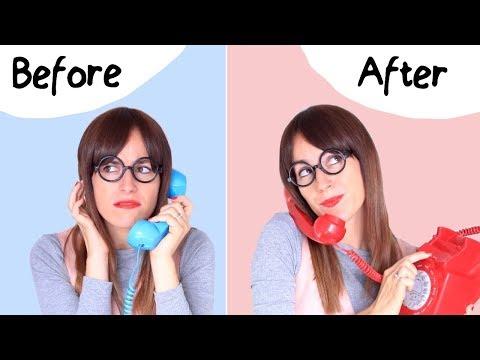 Frases de amigos - Habla por teléfono en inglés como un nativo  BEFORE & AFTER
