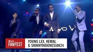 Video Young Lex, SkinnyIndonesian24 & Kemal @ YouTube FanFest Indonesia 2017 MP3, 3GP, MP4, WEBM, AVI, FLV Maret 2019