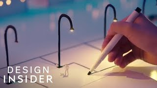 Pen Draws Electricity On Paper