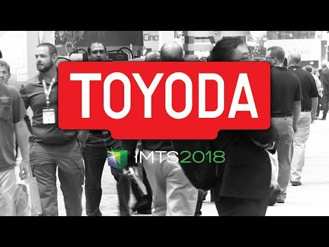 Toyoda at IMTS 2018