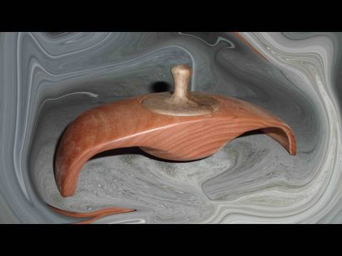 Woodturning Projects Winged Box 1of 2