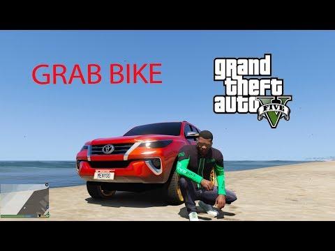 GTA  Mod - Franklin Thử Làm Grab Bike Chở Khách Trong GTA