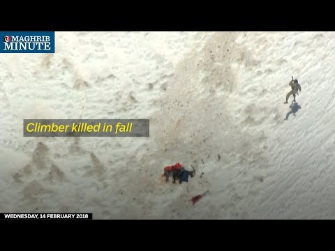 A daring climb turned fatal on Oregon's Mount Hood on Tuesday.