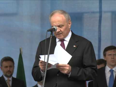 Șeful statului a participat la manifestațiile dedicate Zilei Europei