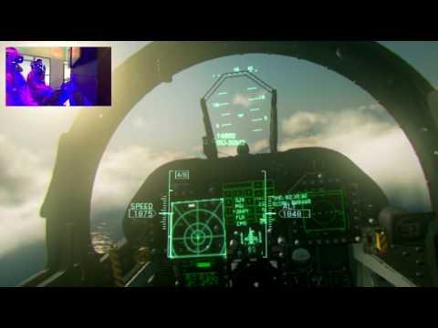 Ace Combat 7 - геймплей в VR. Виртуальная реальность и самолеты. Пилот Антон Логвинов.