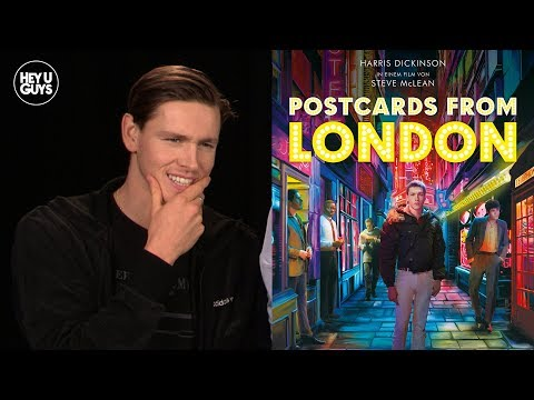 Harris Dickinson on impending fame & Postcards from London | Interview