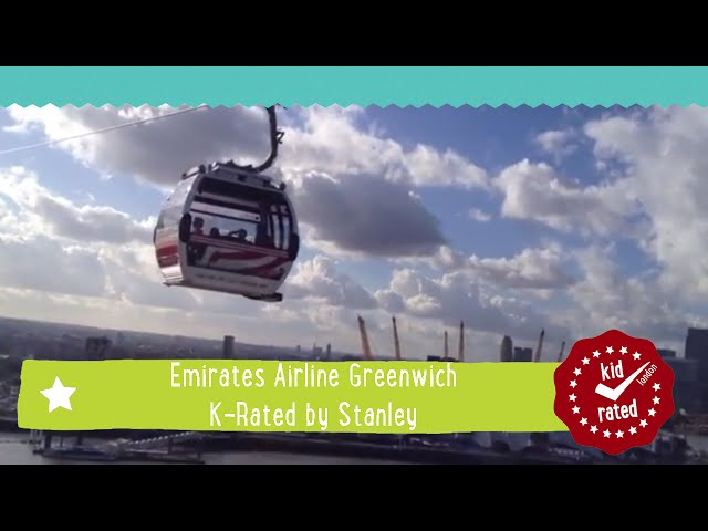 Win a Family Discover Experience on the Emirates Air Line Cable Car