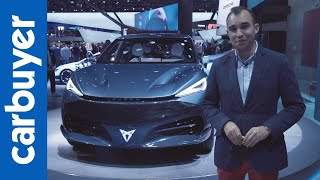 A look at the electric Cupra Tavascan concept - Frankfurt Motor Show - Carbuyer by Carbuyer