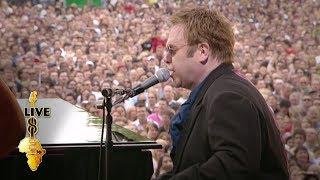 Video Elton John - Saturday Night's Alright For Fighting (Live 8 2005) MP3, 3GP, MP4, WEBM, AVI, FLV Mei 2019