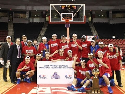 Dream Season: Men's Basketball Wins Patriot League Title