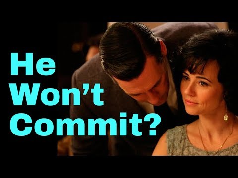 5 Surprising Reasons He Won't Commit to You (Yet) (Matthew Hussey, Get The Guy)
