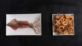 How to Prepare Squid for Crispy Fried Calamari - Kitchen Conundrums with Thomas Joseph by Everyday Food