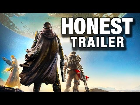 DESTINY (Honest Game Trailers)