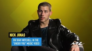 Nick Jonas on Shay Mitchell