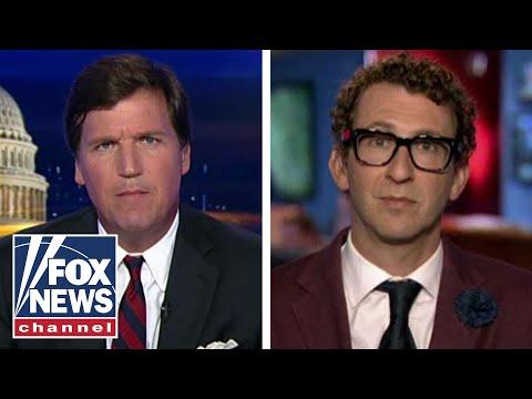 Tucker takes on liberal radio host Ethan Bearman