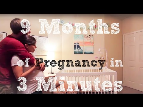 9 Aylık Tatlı Bekleyişin 3 Dakikalık Kısa Videosu