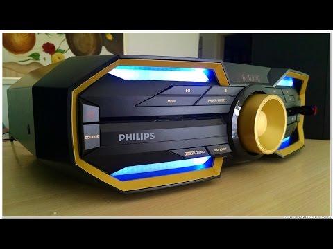 Unbox e Teste do Mini system Philips FX30 ou FX30x/78 ~ 600W RMS, Bluetooth e NFC