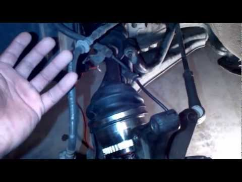 How to remove and install CV Axle Infiniti i30/Nissan Maxima Do It Yourself