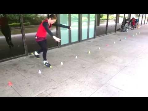 slalom skating training