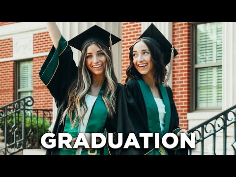 College Graduation Vlog   We're DONE with School!