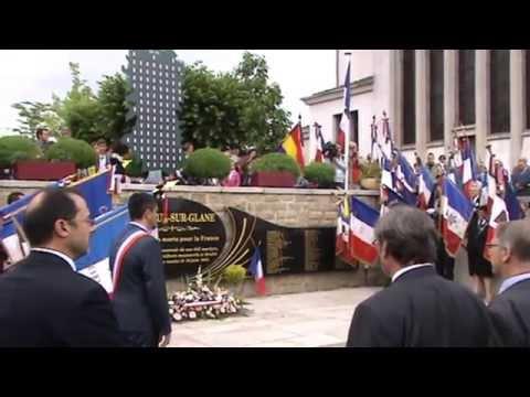 Monument aux morts, Oradour 10 juin 2015