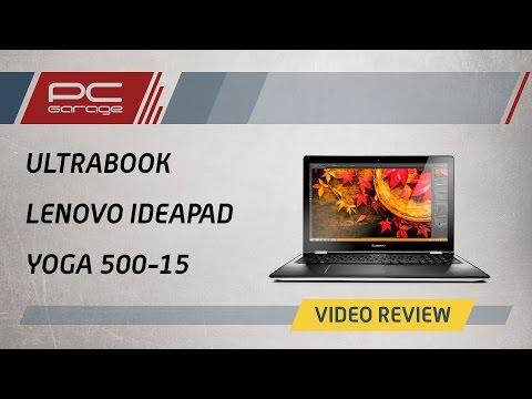"Video Review – Ultrabook Lenovo 15.6"" IdeaPad Yoga 500-15"