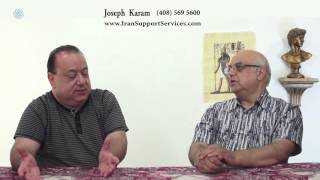 Joseph Karam مصاحبه با جوزف کرم درشبکه پیام جوان