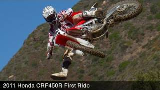 3. MotoUSA 2011 Honda CRF450R First Ride