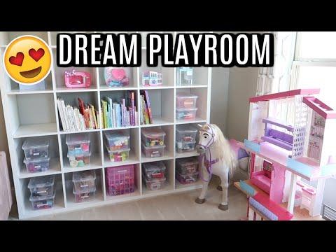 PLAYROOM ORGANIZATION | DEEP CLEAN AND ORGANIZE | Tara Henderson