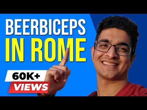 Download ROME Travel VLOG - Food, Art, Fashion, Architecture, Culture! BeerBiceps Vlogs HD Mp4 3GP Video and MP3