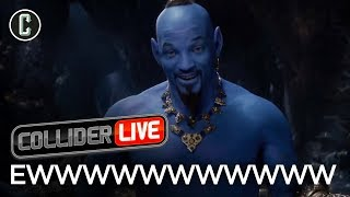 Will Smith as the Genie Looks Ridiculous - Collider Live #70 by Collider